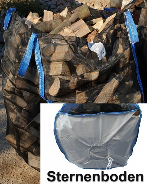 Premium Holzbag 100x100x160cm Sternenboden
